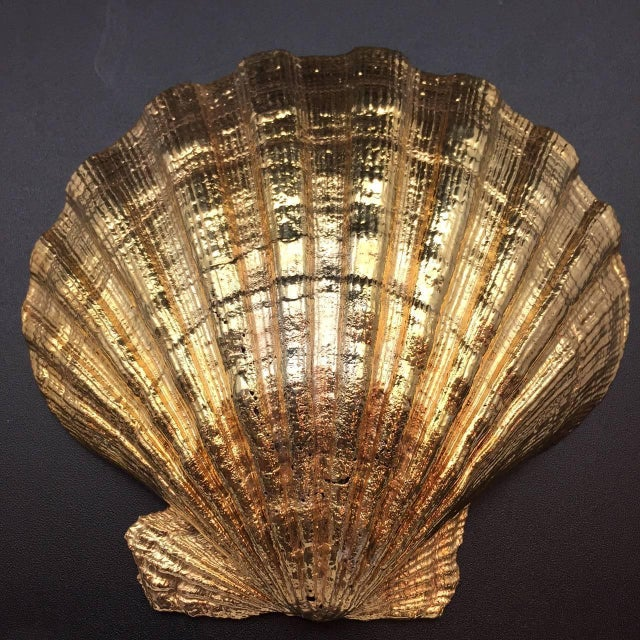 Gold vermeil pecten shell made in Rome, Italy, exclusively for Creel and Gow. It is the symbol of pilgrims on the way to...