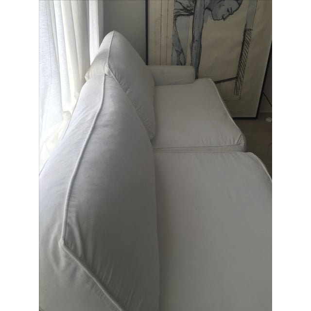 Shappy Chic Slip Cover Couch - Image 2 of 3