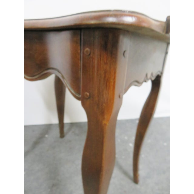 Walnut Louis XV Baker Walnut Nightstand For Sale - Image 7 of 9