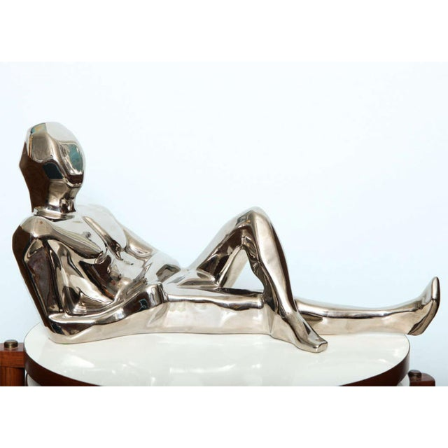 1970s 1970s Jaru Space Age Silver Sculpture For Sale - Image 5 of 8