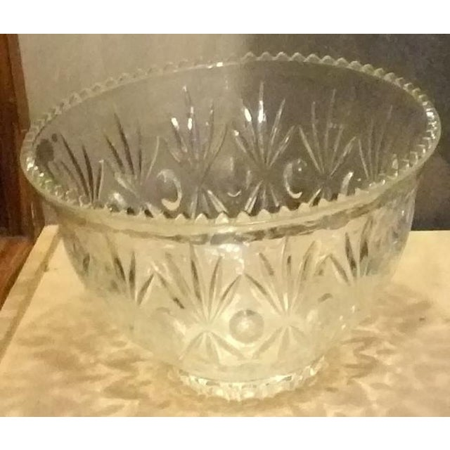 Crystal Punch Bowl - Image 2 of 6