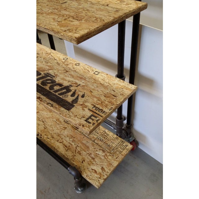 Awe Inspiring Adjustable Black Pipe Shelf Unit Machost Co Dining Chair Design Ideas Machostcouk