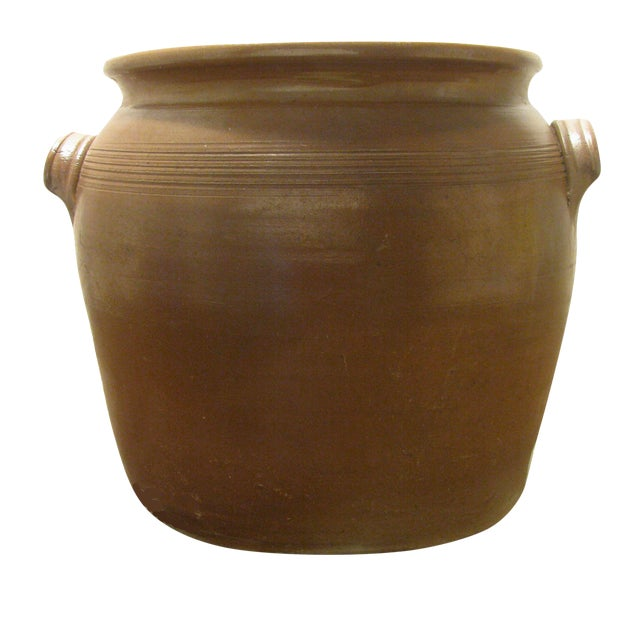 Very Large French Confit Pot For Sale