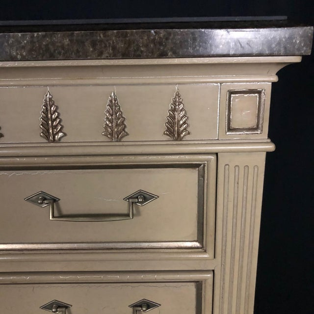 Louis XVI Style Chests or Night Stands -A Pair For Sale - Image 4 of 13