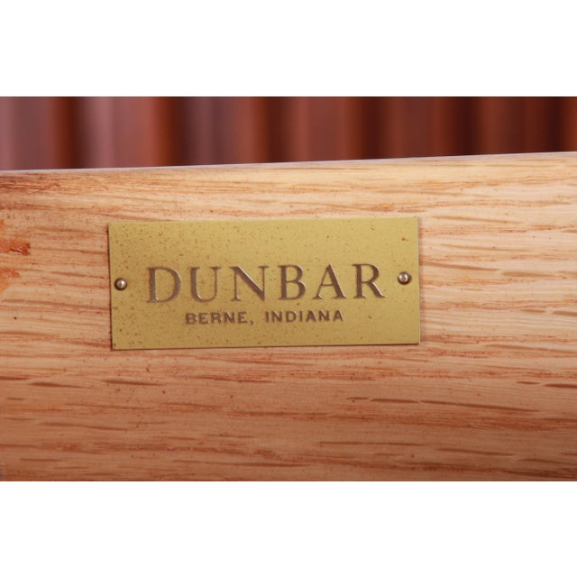 1950s Edward Wormley for Dunbar Curved Two-Piece Corner Credenza For Sale - Image 12 of 13