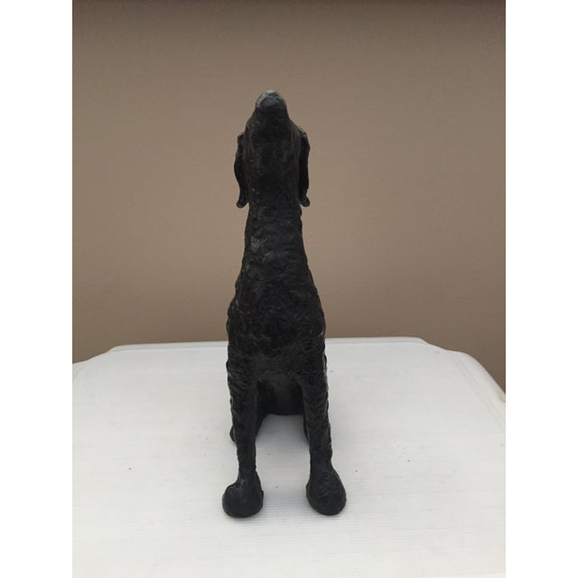 Metal Hound Dog Figurine - Image 3 of 6