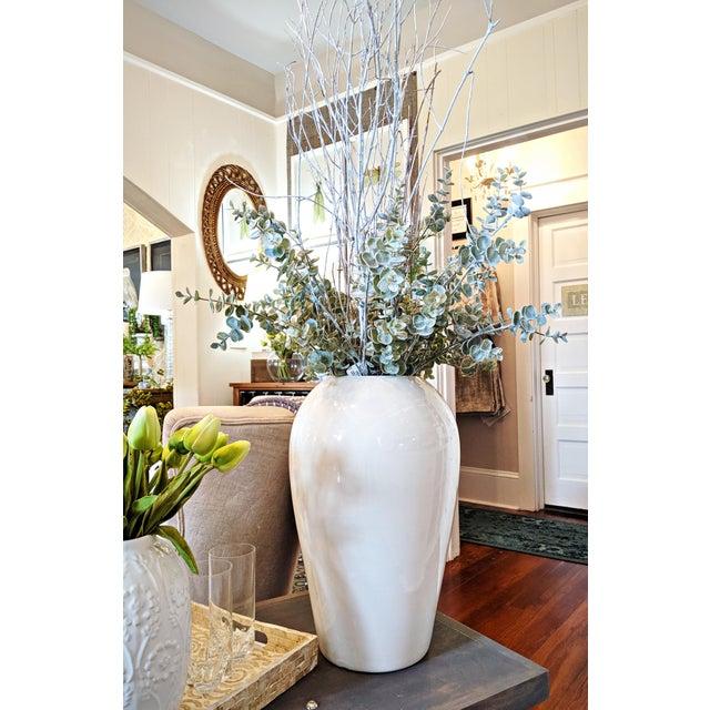 Haeger Modern White Vase For Sale In Orlando - Image 6 of 6