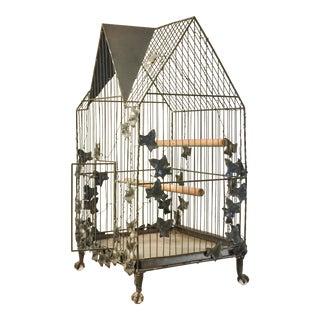 Custom Made Steel Bird Cage For Sale