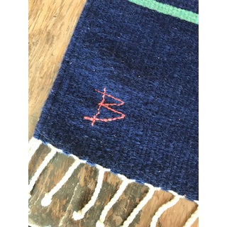 1960s Vintage Signed Scandinavian Rollakan Rug - 1′11″ × 3′4″ Preview