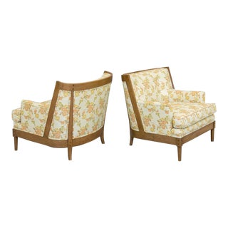 Erwin Lambeth-Style Lounge Chairs, a Pair For Sale