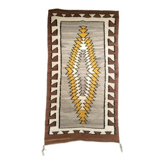 "Vintage American Navajo Rug - 2' 7"" X 4' 8"" For Sale"