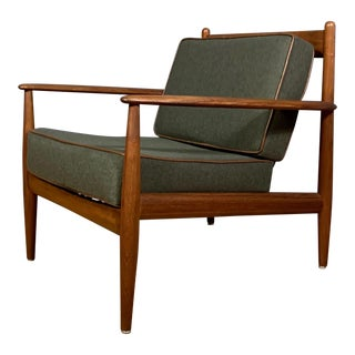 1950s Grete Jalk Armchair, France & Deverkosen, Denmark For Sale