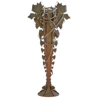 Albert Paley Monumental Vase For Sale