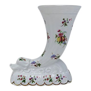 Vintage Coalport Porcelain Flower Vase For Sale