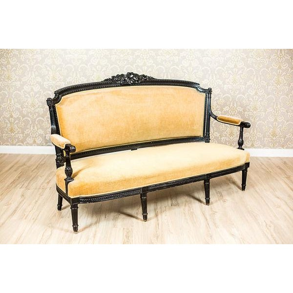 Antique Sofa from the Mid. 19th c. For Sale - Image 9 of 13