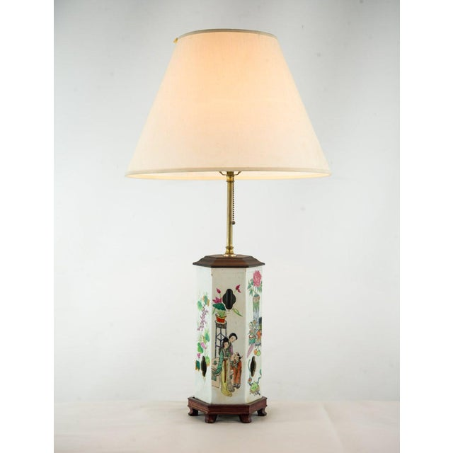 Chinoiserie Ginger Jar Table Lamp For Sale - Image 13 of 13