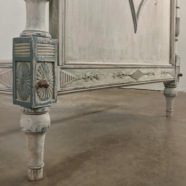 19th Century Painted Directoire Day Bed For Sale In Dallas - Image 6 of 13