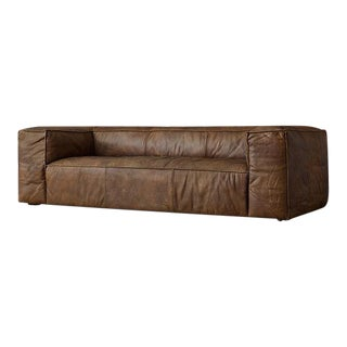 Square Leather Sofa