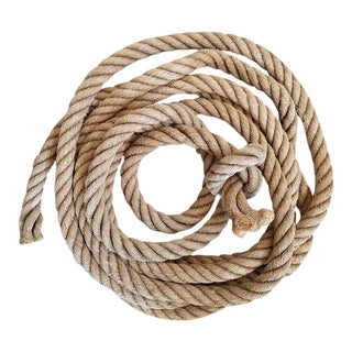 Vintage Nautical Dock Rope For Sale
