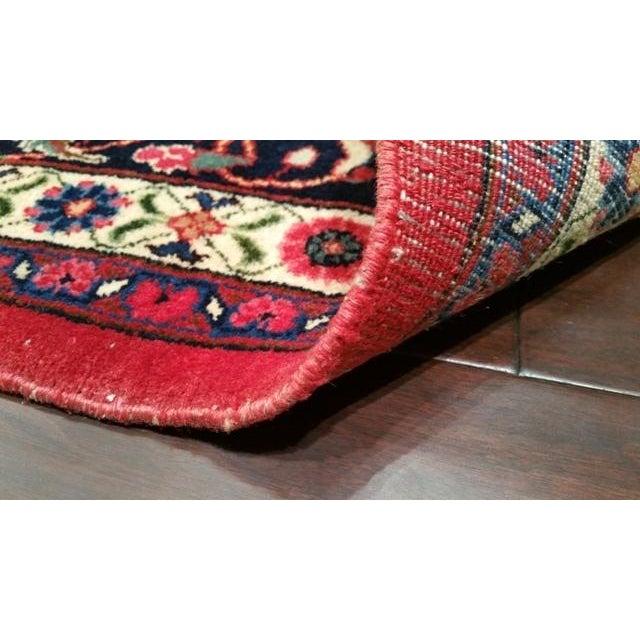 Islamic Persian Sarouk Hand Made Rug - 8x10 For Sale - Image 3 of 3