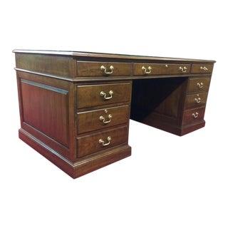 Stickley Cherry Executive Desk For Sale