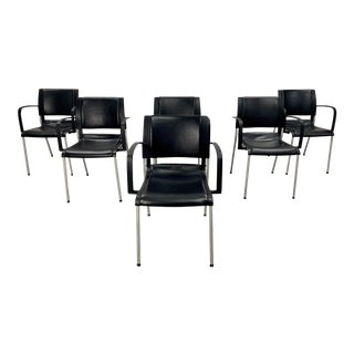 Akaba Designer Dining Chairs by Jorge Pensi - Set of 6 For Sale