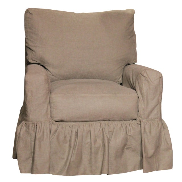 Swivel Glider Chair by Lee Industries - Image 1 of 4
