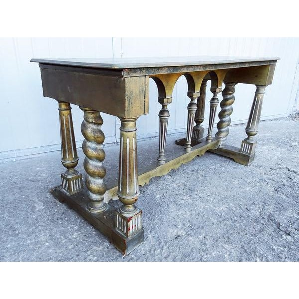 Shabby Chic Imperial Style Coffee Side Table - Image 4 of 8