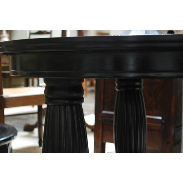 Empire 19th c. Danish Oak Table For Sale - Image 3 of 4