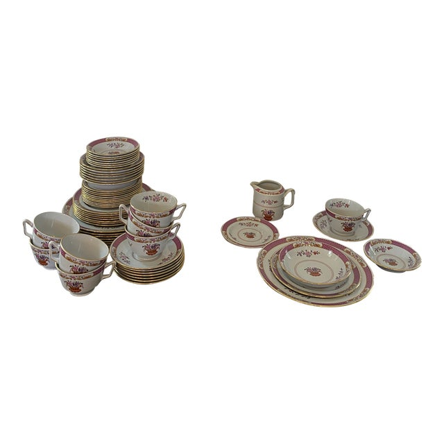 Spode China Lord Calvert Pattern Service for 8 Dinnerware - 60 Piece Set For Sale