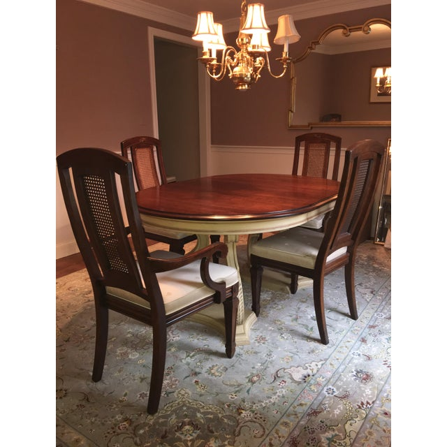 Blonde Mahogany Dining Set - Image 8 of 11