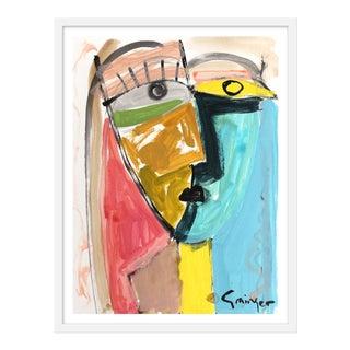 "Medium ""Stella and Joe"" Print by Lesley Grainger, 24"" X 30"" For Sale"