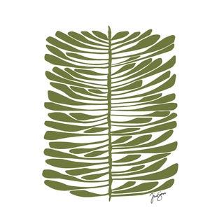 Green Hawaiian Pine Canvas Print For Sale