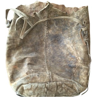 Early 1800's Native American Buffalo Horse Bag For Sale