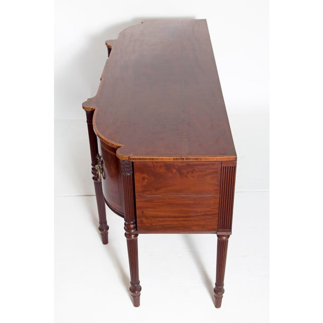 Late 18th Century Mahogany George III Sideboard With Cellerette For Sale In Dallas - Image 6 of 13