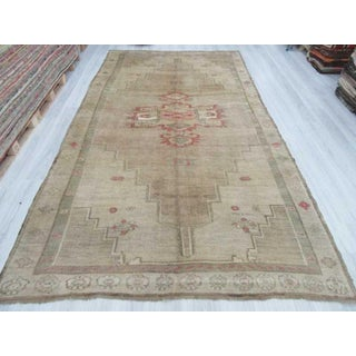 "Vintage Washed Out Large Turkish Kars Rug - 7'4"" x 13'7"" Preview"