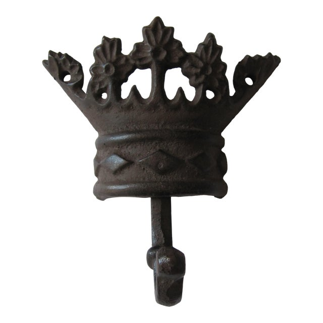Iron Crown Wall Hook For Sale