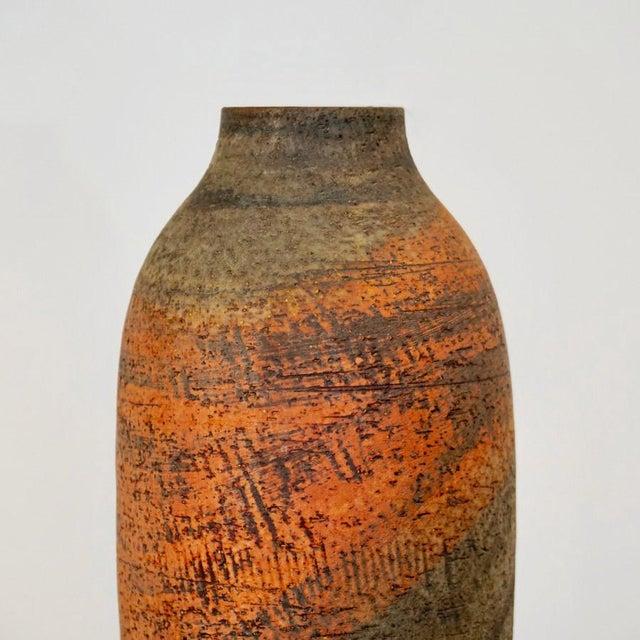 Mid-Century Modern Mid 20th Century Large Marcello Fantoni Vase For Sale - Image 3 of 9