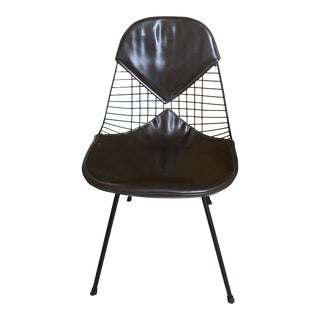 Vintage Original Eames Dkx-2 Wire Shell Chair for Herman Miller For Sale