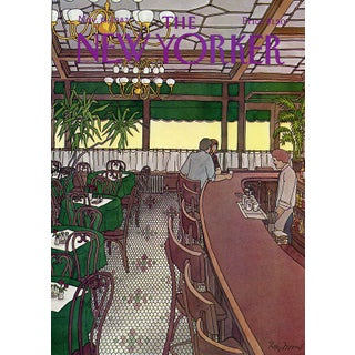 Vintage 1982 New Yorker Cover, November 15 (Roxie Munro), Cafe For Sale