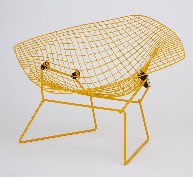 Rocking Diamond Chair By Harry Bertoia   Image 2 Of 13