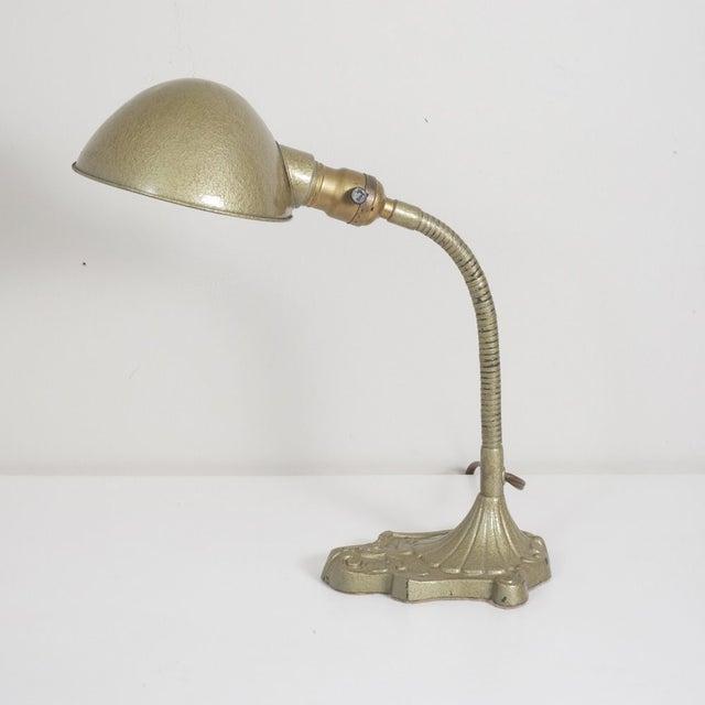 Vintage Gooseneck Lamp For Sale - Image 4 of 6