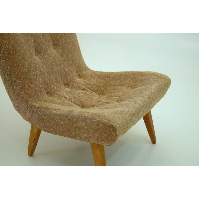 Mid-Century Modern Philip Arctander Danish Lounge Scoop Chair For Sale - Image 3 of 6