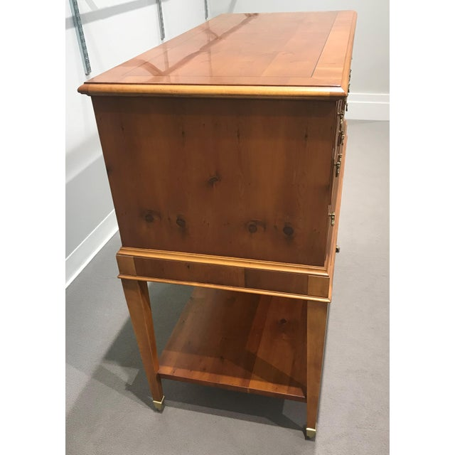 Brown Ej Victor Chest With Silverware Chest Of Drawers For Sale - Image 8 of 13
