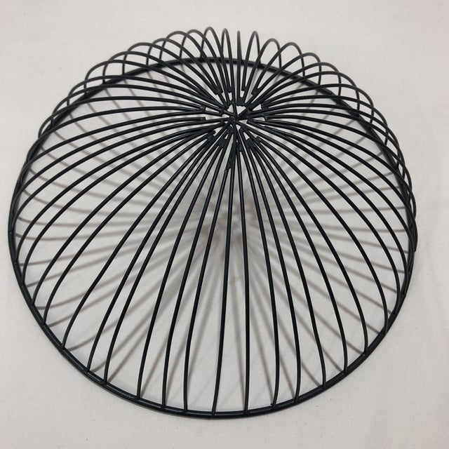 Hand Crafted Industrial Style Wire Bowl For Sale - Image 4 of 5