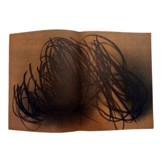 "1971 ""Farandole"" Hans Hartung Pencil Signed & Numbered Original Lithograph 8 For Sale"