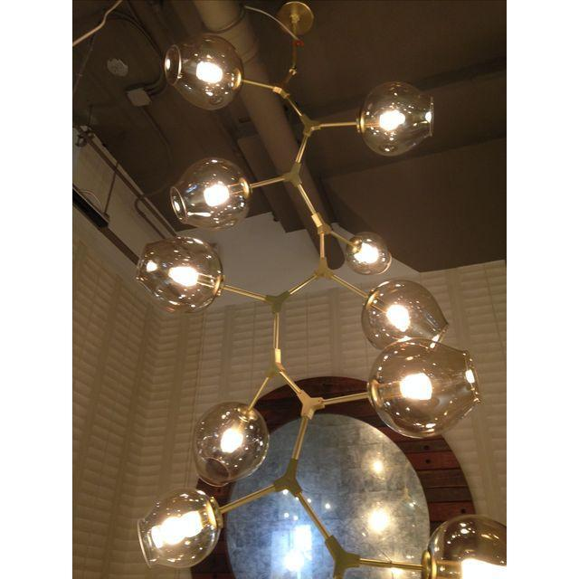 Lindsey Adelman Style 15 Light Bronze Chandelier - Image 4 of 4