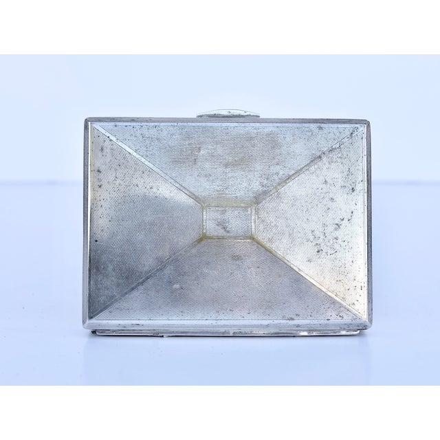 Mid-Century Modern Silver Plated Box For Sale - Image 3 of 5