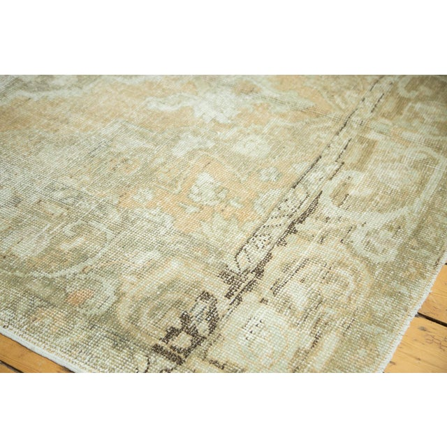 "Vintage Distressed Oushak Carpet - 5'8"" x 9'4"" - Image 8 of 10"
