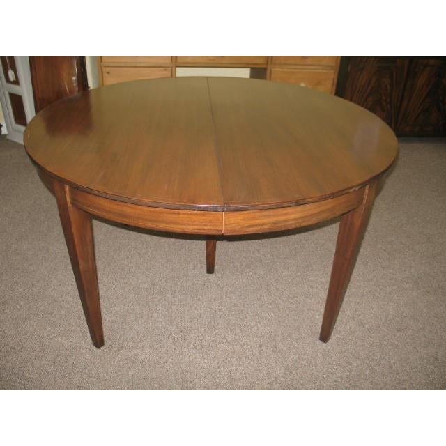 Antique Extending Mahogany Dining Table - Image 9 of 11
